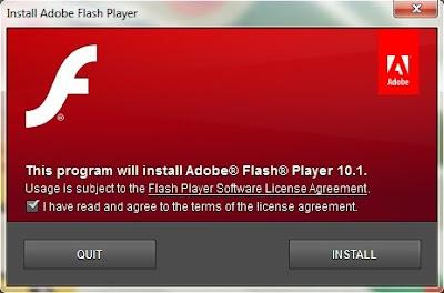 Adobe Flash Player 10.1 RC