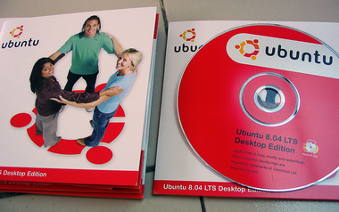 Ubuntu 8.04 LTS Desktop Edition CD