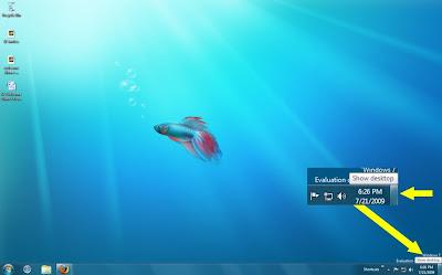 Windows 7 Show Desktop