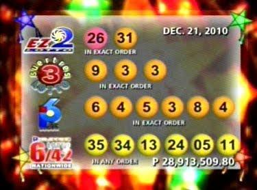 Lotto Result