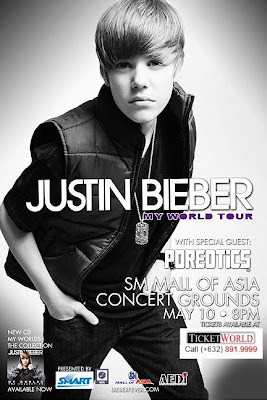 Free Justin Bieber Tickets on Justin Bieber Live In Manila Concert 2011  Free Tickets    Coolbuster
