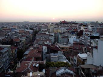 Estambul puesta de sol