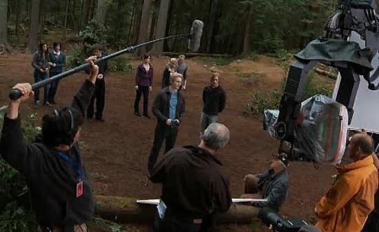 Where Was Twilight Filmed stephenie meyer shares eclipse shooting details. - twilight phenomena