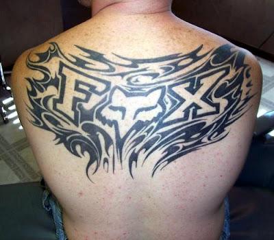 fox racing tattoos designs