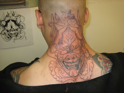 Labels: demon tattoos, half sleeve tattoos, Japanese Tattoo, upper arm