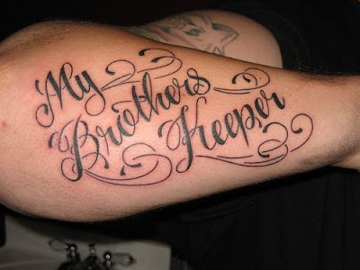 Tattoo Writing Cursive