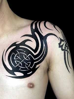 armband tattoo tribal