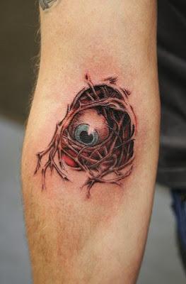 eyeball tattoos for men