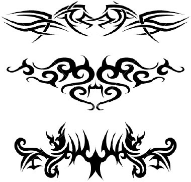 Tribal tattoo design ideas from