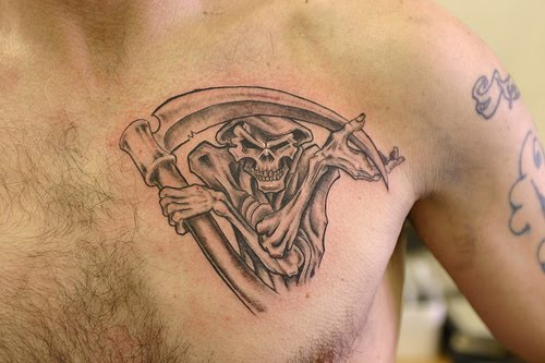 Grim Reaper tattoos. Posted by ricard at 6:02 AM