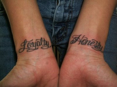 wrist script tattoos-great ideas tattoos for women