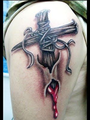 tattoo designs cross. new cross tattoo designs