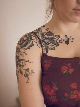 flower tattoo designs for girls | girls flower tattoos | FREE TATTOO DESIGNS