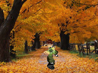 Ben Ten 10 Wallpapers in Classic Autumn Trees background