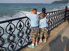 Los niños y el mar