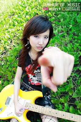美女吉他手琳琳