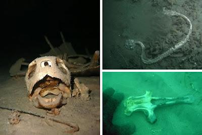 世界11大海底墳墓(四)  海底的骷髏