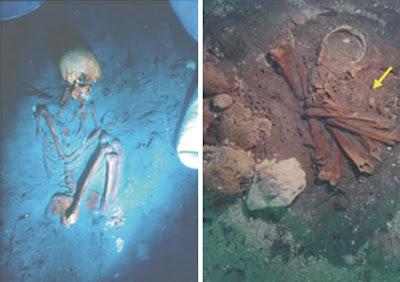 世界11大海底墳墓(九) 新石器時代的婦女以及嬰兒