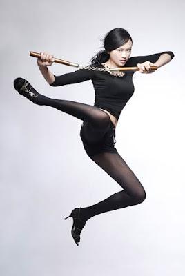 體操美女戴菲菲 大陸藝術體操金牌 體操美女戴菲菲