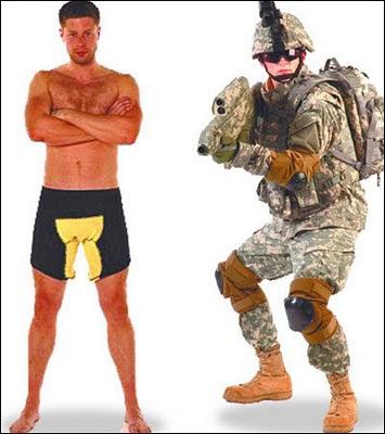 英國 防彈內褲 - 英國軍隊引進防彈內褲