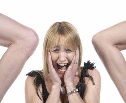 膝蓋恐懼症 Genuphobia - 罕見的 膝蓋恐懼症 Genuphobia