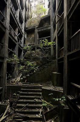 日本現代鬼城 端島
