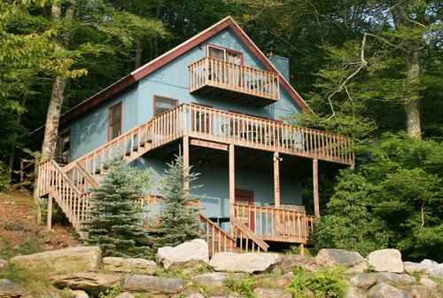 North carolina cabins mountain vacation rentals and lakefront cottages beech mountain vacation - Alpine vacation houses ...