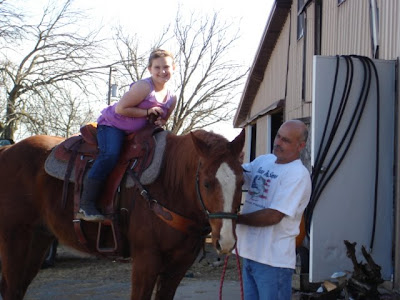 Happenings at the Ranch – Papa's lil' Cowgirl