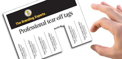 the branding experts professional tear off tags the branding experts