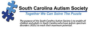 logo of the south carolina autism society