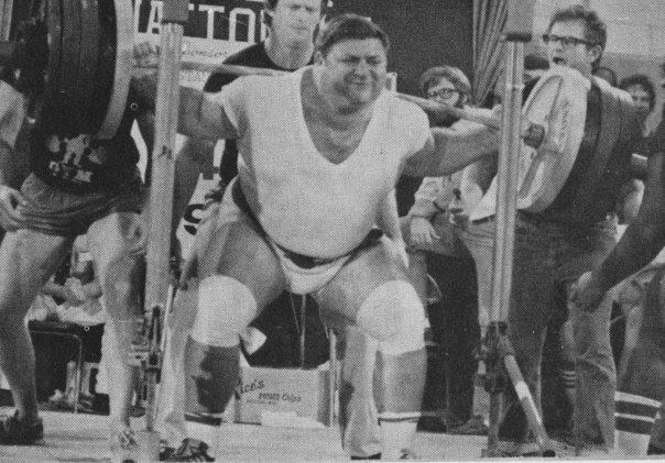 The Tight Tan Slacks Of Dezso Ban The Squat Doug Hepburn