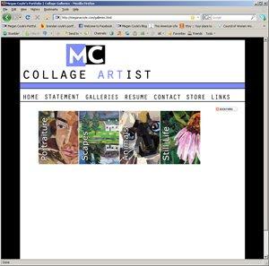 Megan Coyle's portfolio website