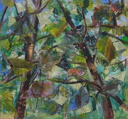 Abstract Trees by Megan Coyle