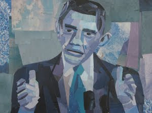 Barack Obama by Megan Coyle