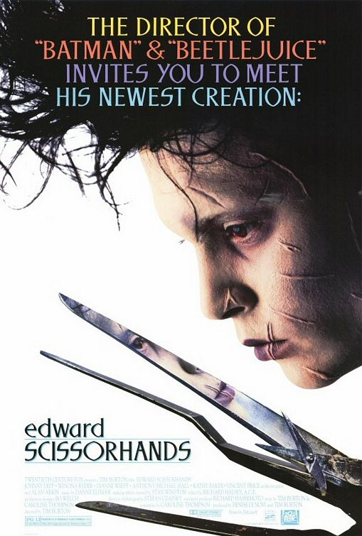 edward scissorhands film essay