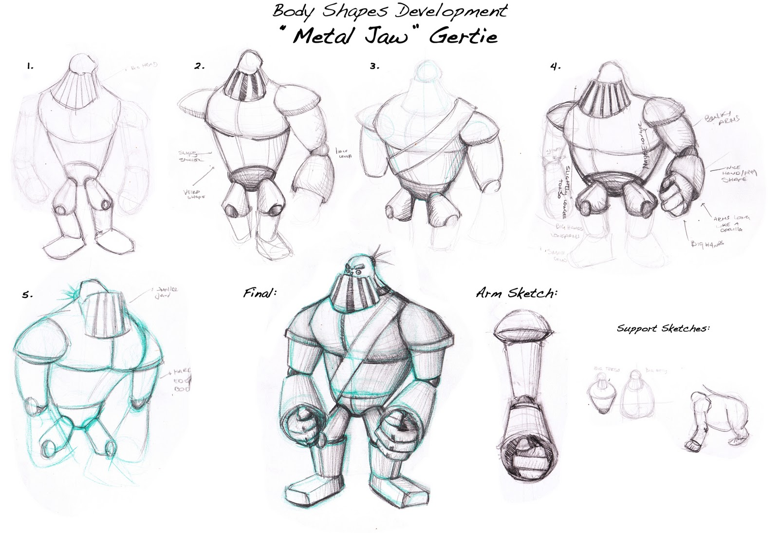 Character Design Body : Ruben s page unit character design body shapes