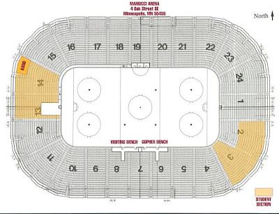 Mariucci arena mariucci arena seating