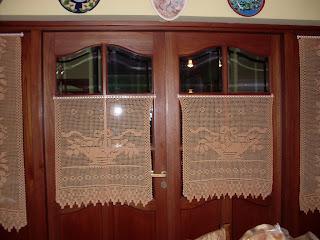 Lina 39 s tejidos marzo 2009 - Visillos para puertas ...