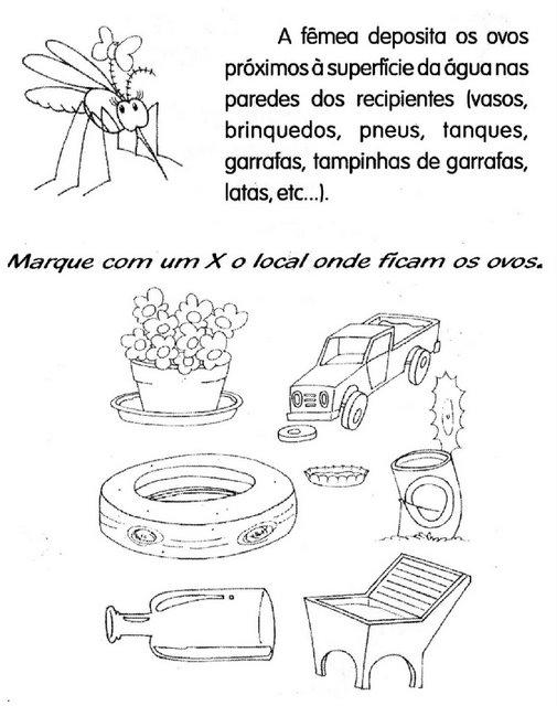 Prevencion dengue para colorear - Imagui