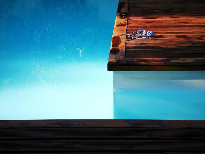 ...blue silence....