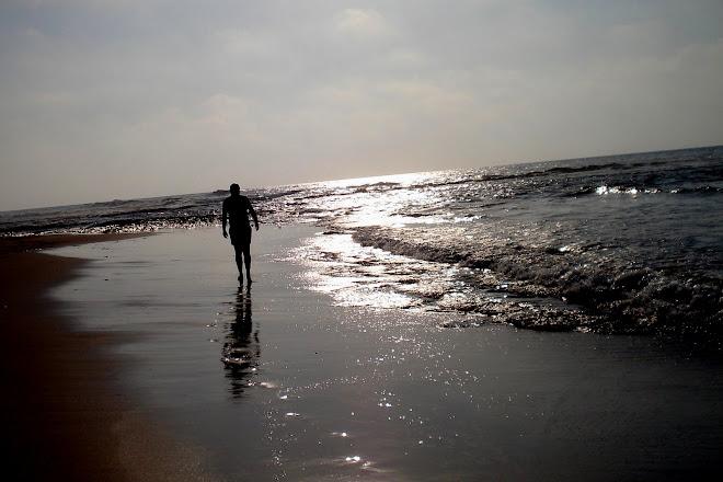 ........like a roaring sea..
