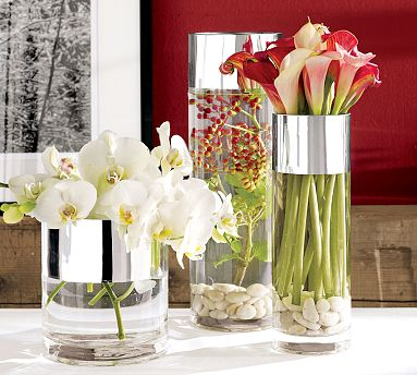 house of decor decorating with flower vases