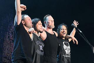 Metallica em 2006, foto extraída do site oficial