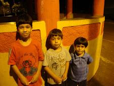Estes são meus filhinhos: Daniel Antonio, João Paulo E Pedro Henrique