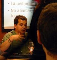 Ricardo Galli durante su ponencia en el SICARM