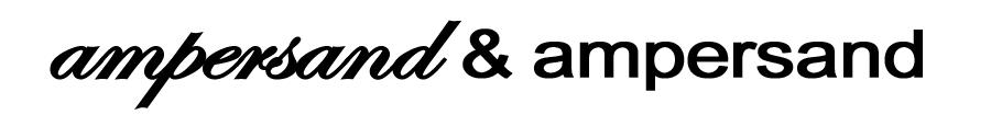 Ampersand & Ampersand