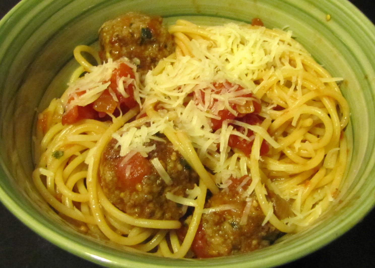 Smells Like Food in Here: Spaghetti and Meatballs