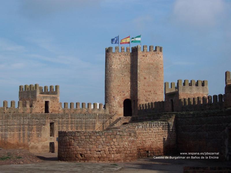 En clase de patrimonio castillo de burgalimar ba os de la encina ja n por sandra - Castillo de banos de la encina ...