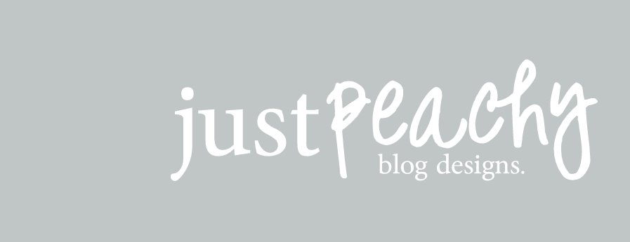 Just Peachy Blog Designs.