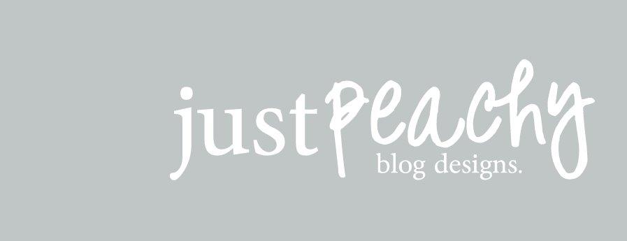 Just Peachy Blog Designs.
